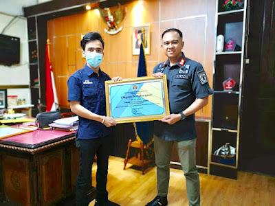 Dukung Pembangunan ZI WBK, PWI Banten Beri Penghargaan Kepada Lapas Pemuda Tangerang