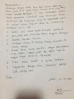 Korban Pertama Meninggal Covid-19 Untuk Kabupaten Muaro Jambi Provinsi Jambi.