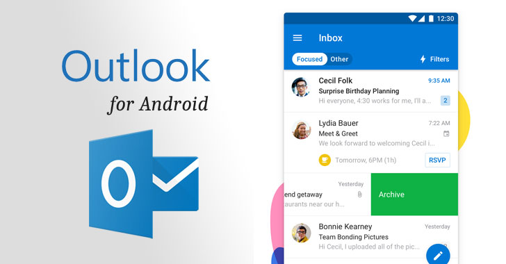 Important Flaw in Outlook App for Android Affects Over 100 Millions Users