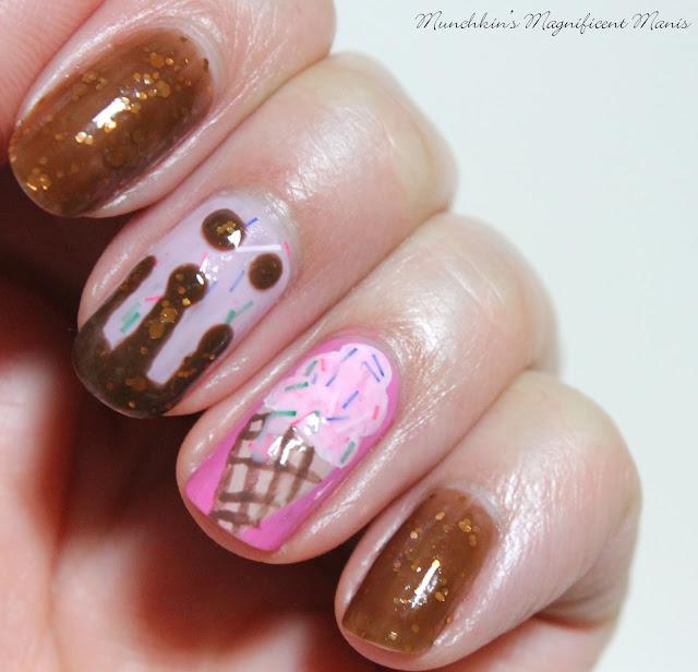 Dessert Nail design