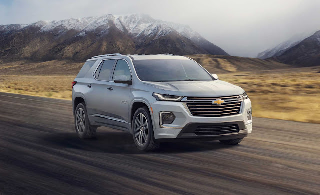 2022 Chevrolet Traverse Review