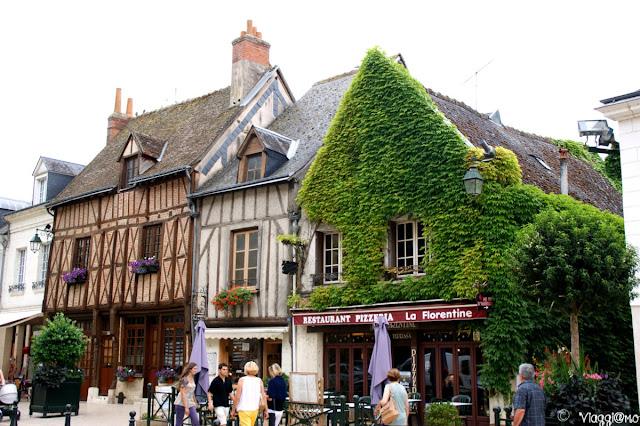 Case a graticcio nel centro storico di Amboise