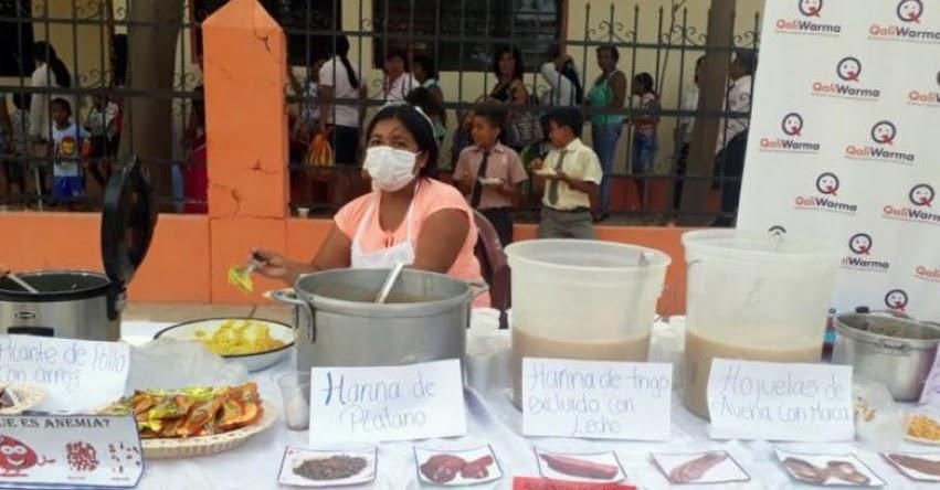 Qali Warma participó con stand informativo en aniversario de distrito de Casitas en Tumbes - www.qaliwarma.gob.pe