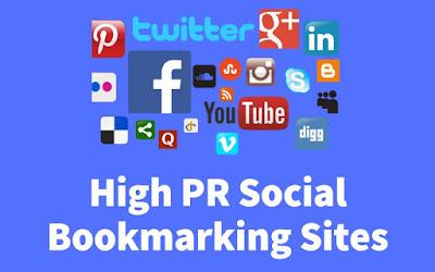 High PR Social Bookmarking Sites 2019