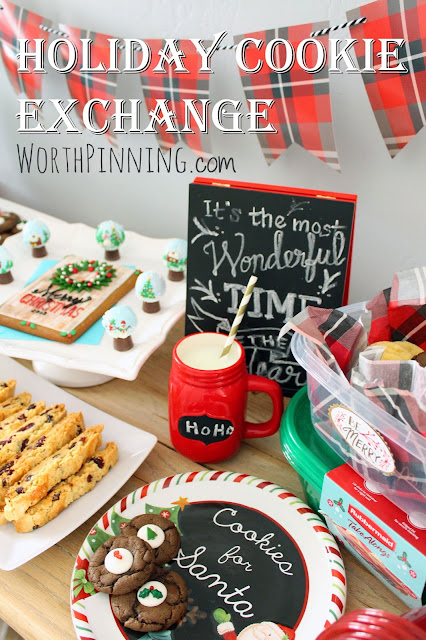 Worth Pinning: Holiday Cookie Exchange with Rubbermaid TakeAlongs