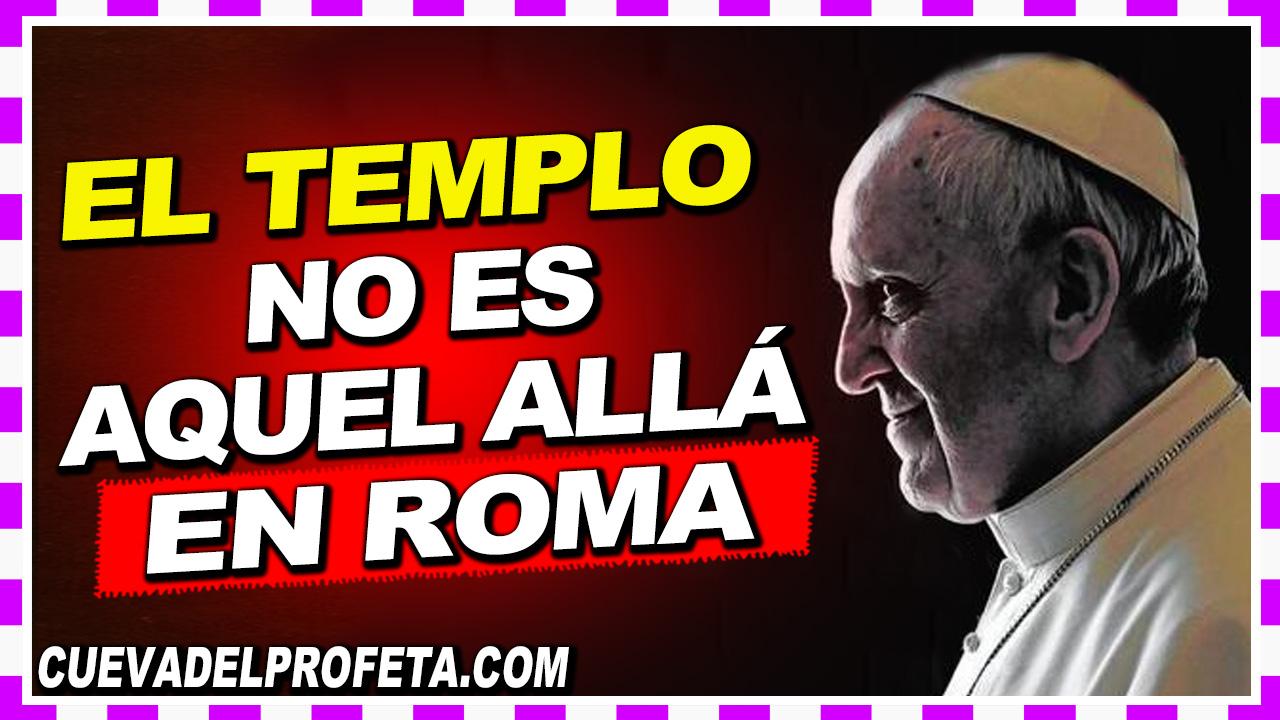 El templo no es aquel allá en Roma - William Branham en Español