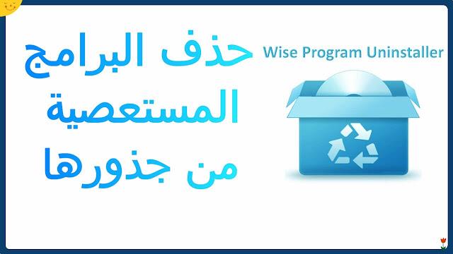 تحميل Wise Program Uninstaller