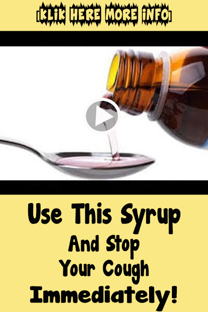 Use This Syrup And Stop Your Cough Immediately