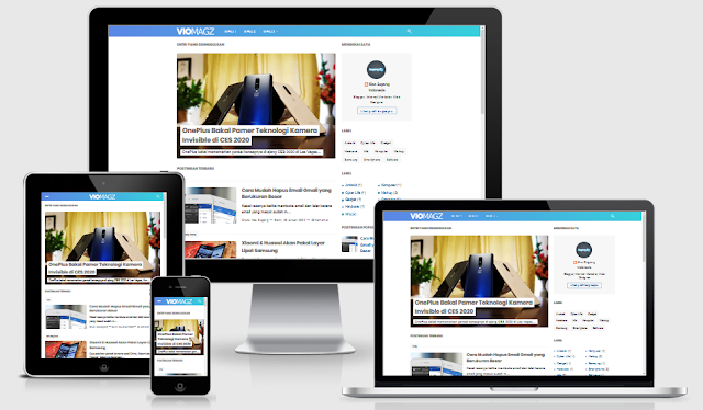 Download Template Blogger VioMagz v3.3.0 Premium