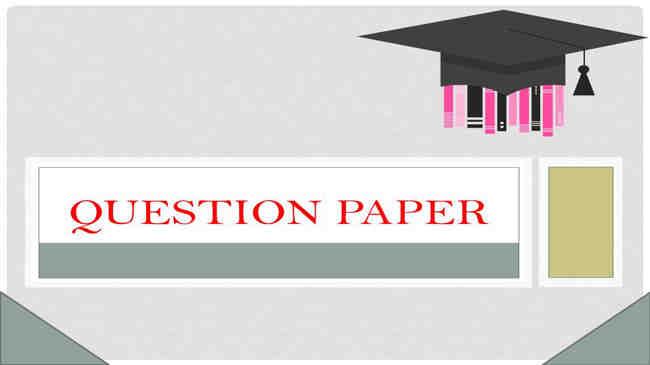 Dibrugarh University B.Ed Entrance Question Paper