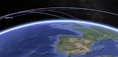 App details page: Liquid Galaxy Orbit Satellite Visualizer
