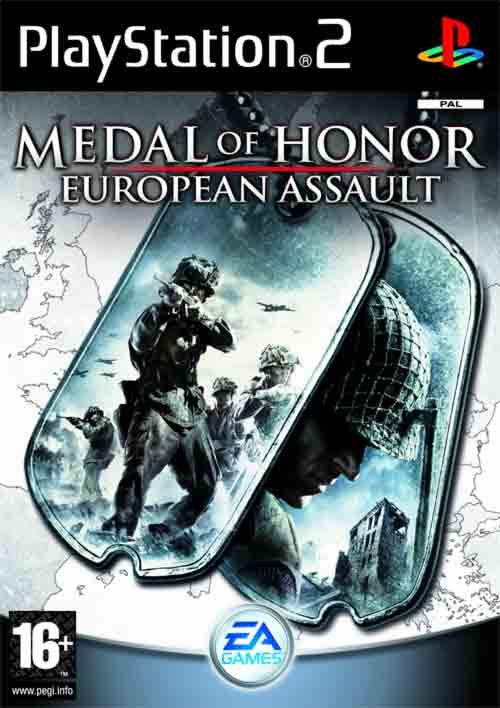 Medal%2BOf%2BHonor%2BEuropean%2BAssault - Medal Of Honor European Assault | PS2