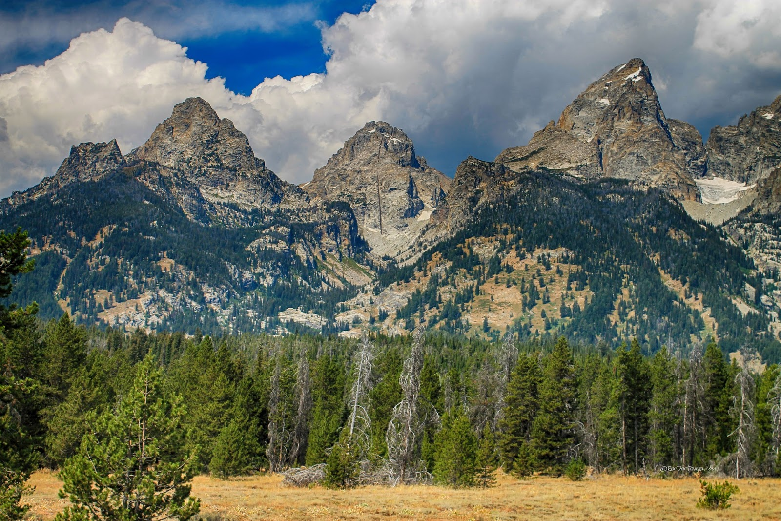 Grand Teton National Park Wyoming geology travel field trip copyright RocDocTravel.com