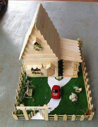 Cara Membuat Diorama Rumah : membuat, diorama, rumah, BENTUK, RUMAH