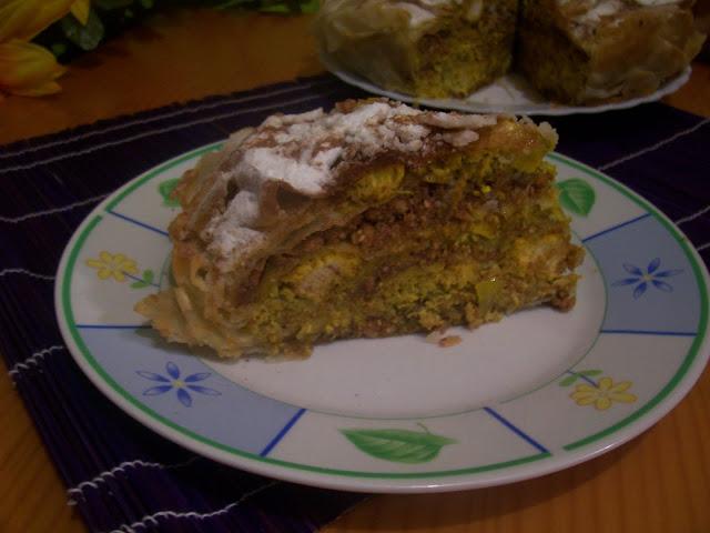 Pastela de Pollo y Almendras