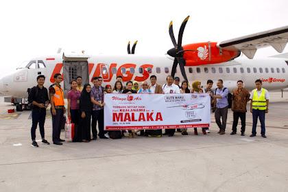 Bandung Palembang kini Bisa Terbang Langsung dengan Wings Air
