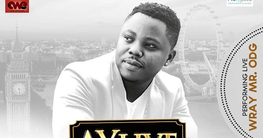 Wray Will Be Performing At AY Live In London, England