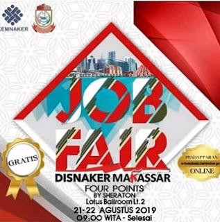 Job Fair Disnaker Makassar 2019