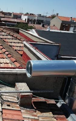 foto tubo EI30 300-350 para conectar caja extracción