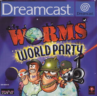 Worms World Party Dreamcast cover art