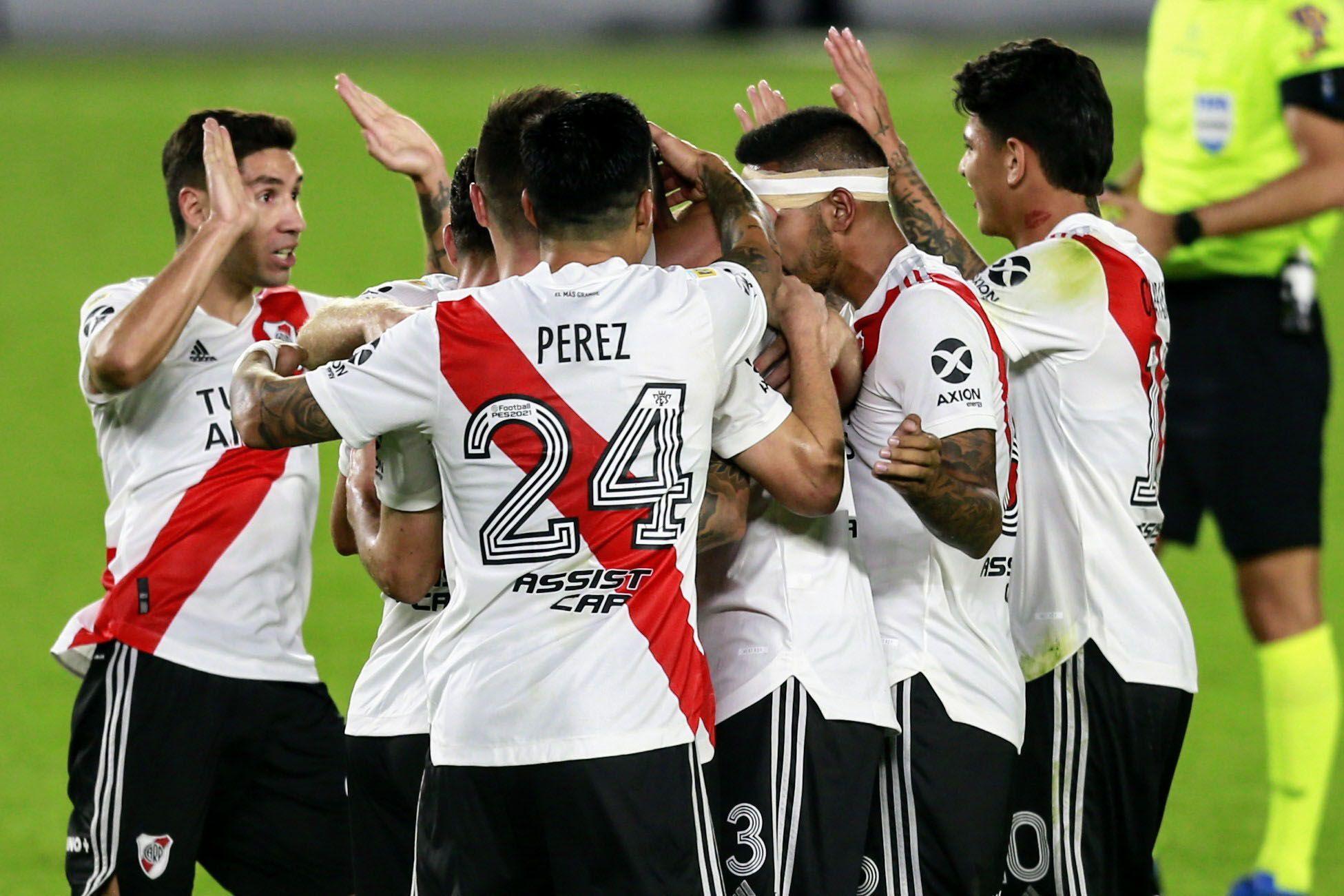 River alcanzó la victoria sobre Colón, al que le sacó el invicto en la Copa de la Liga