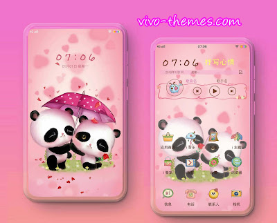 Couple Panda Theme