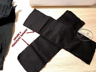 Adzik tworzy - powiększanie spodni w pasie DIY
