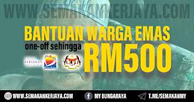 Panduan Mohon Bantuan Warga Emas JKM RM500 Setiap Sebulan 2021