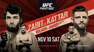 Ver UFC Fight Night: Zabit vs Kattar En vivo Español Online