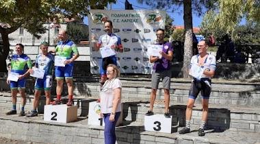 Σε διασυλλογικό αγώνα στην Άκρη Ελασσόνας η ποδηλασία της Νίκης Βόλου