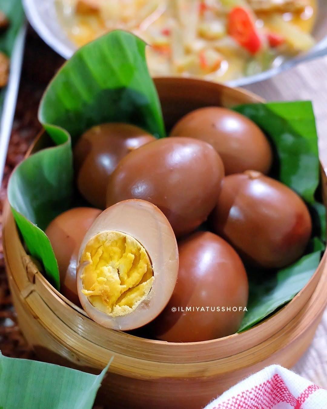 Resep Telur Bacem : resep, telur, bacem, RESEP, TELUR, BACEM, Resep, Masakan, Nusantara