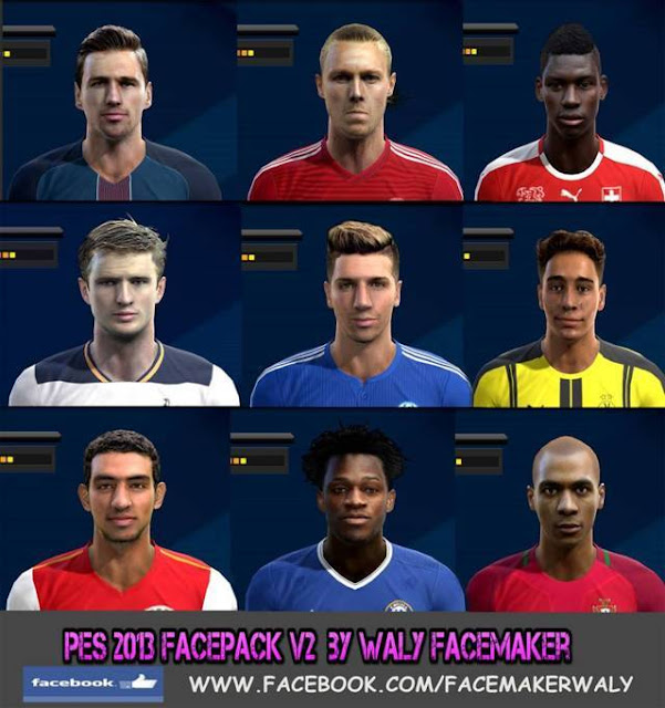 PES 2013 New Facepack