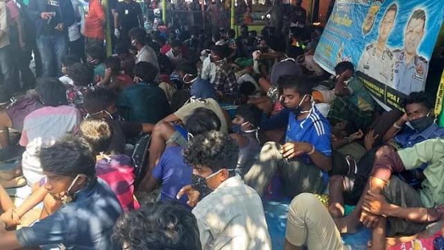 295 Pengungsi Asal Rohingya Kembali Mendarat di Aceh