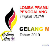GELANG MAS 2019 - Lomba Pramuka Penggalang Tingkat SD/MI Se Malang