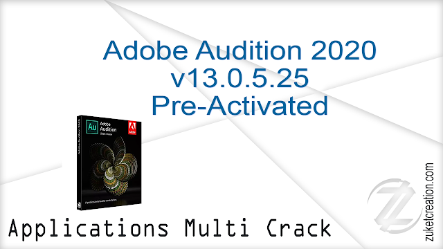Adobe Audition 2020 v13.0.5.25 Pre-Activated