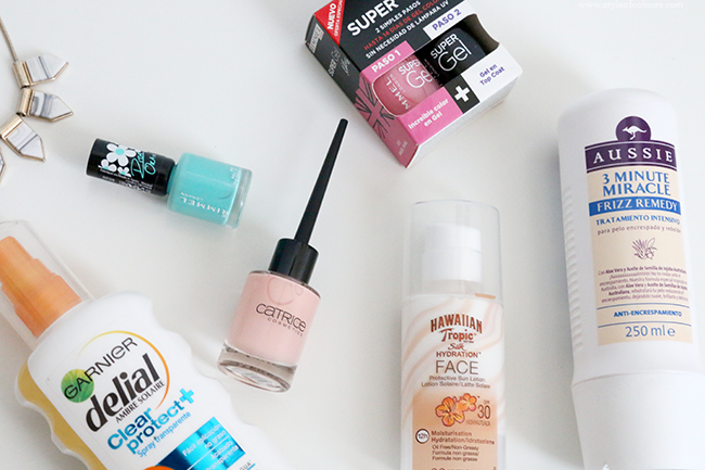 New in: Rimmel, Aussie, Hawaiian Tropic and more