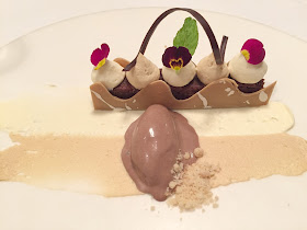 Praline Dessert Jesmond Dene House Early Evening Menu