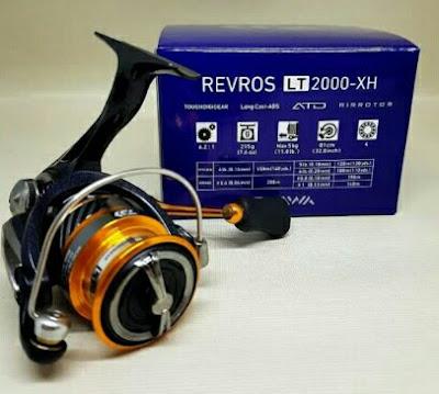 Reel Daiwa Revros LT 2000-xh