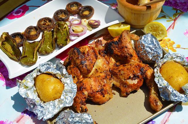 barbacoa de gas, barbacoa de pollo, barbacoa de pollo receta, barbacoa receta, cocinar en barbacoa de gas, como hacer pollo asado en barbacoa, pollo asado en barbacoa de gas, recetas para barbacoa de gas, las delicias de Mayte,