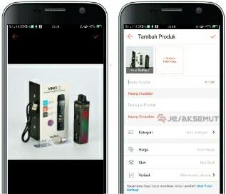 cara upload video produk di shopee