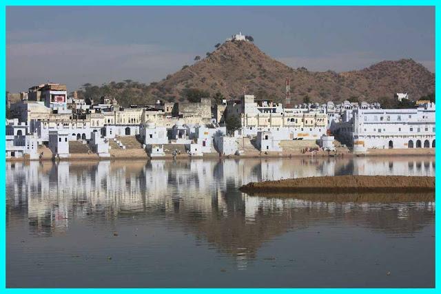 Ghats and also Old City of Pushkar, Pushkar