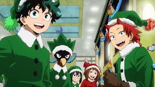 ヒロアカ5期 緑谷出久 クリスマス | Midoriya Izuku | デク DEKU | 僕のヒーローアカデミア アニメ | My Hero Academia | Hello Anime !