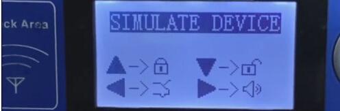 Simulate device success