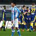 Hirving Lozano inició festejando en el estadio Marcantonio Bentegodi