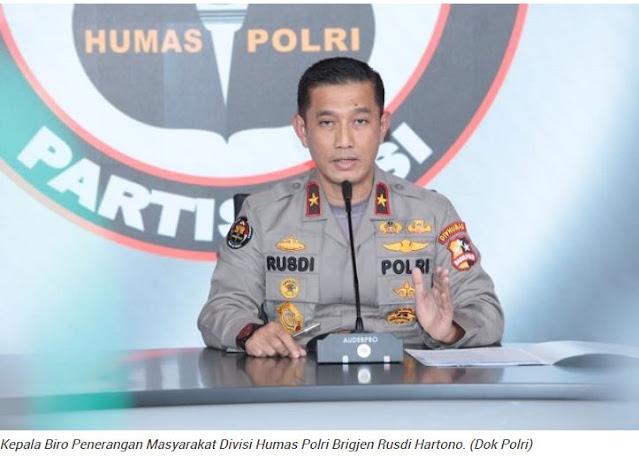 Polri Imbau Masyarakat Tak Termakan Hoaks soal Meninggalnya Ustadz Maaher