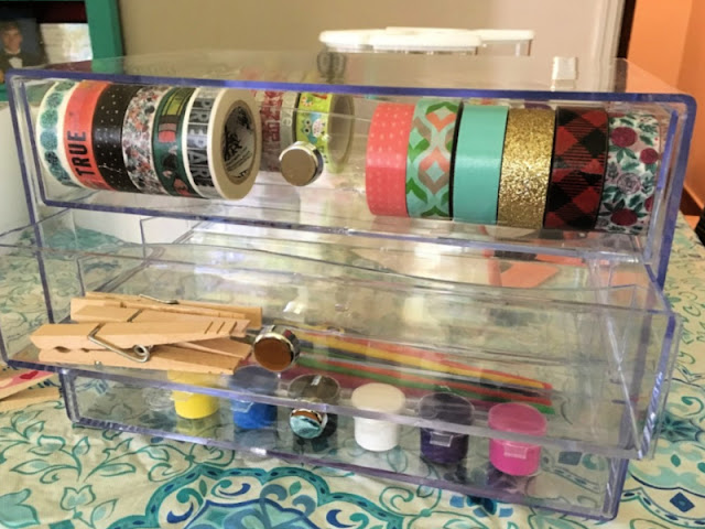 Plan the ultimate Girl's Craft Night with these 3 projects and craft storage organizers from Deflecto!