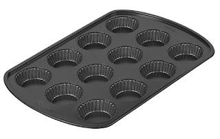 Wilton 12-cavity nonstick mini tart pan