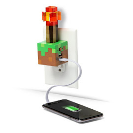 Minecraft Redstone Torch Charger Gadgets