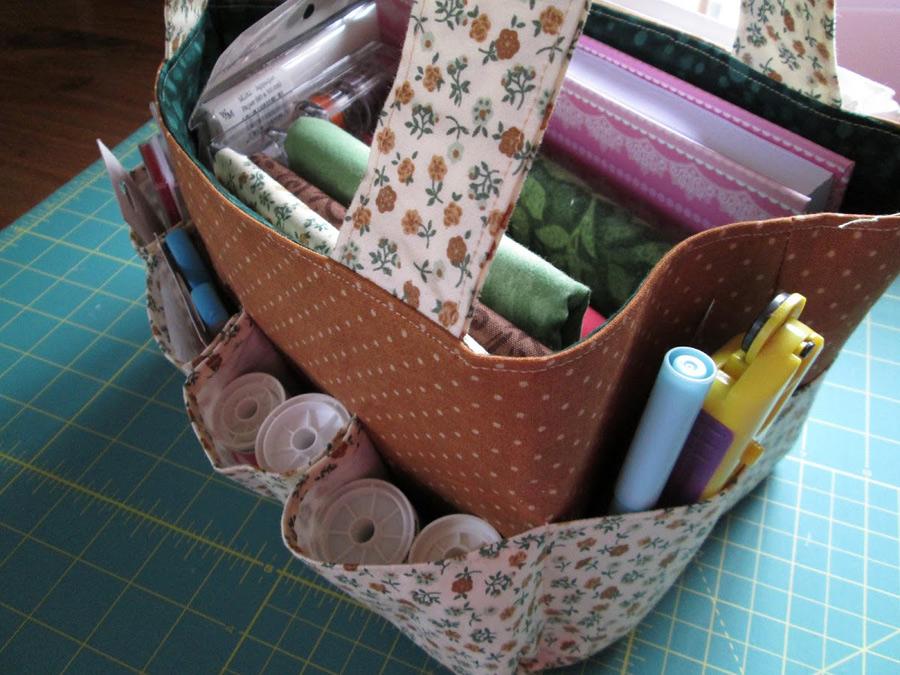 Travel Sewing / Craft Bag Pattern & Tutorial