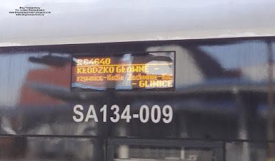 SA134-009, tablica kierunkowa